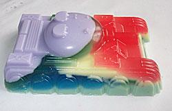 форма для мыла танк